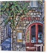 Vagabundo Corfu Wood Print