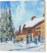 Vail , Colorado Wood Print