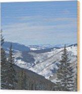 Vail Colorado II Wood Print