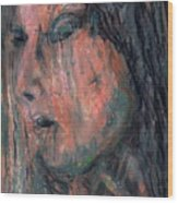 Vail Of Tears Wood Print