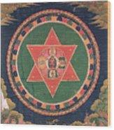Vajravarahi Mandala Wood Print
