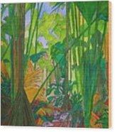Val De Endore Wood Print