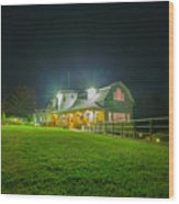 Valcour Conference Center Wedding And Meetings - Brighter Exposure Wood Print