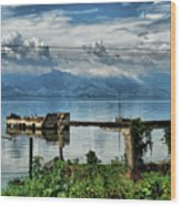 Valencia Lake Wood Print