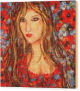 Valentina Wood Print