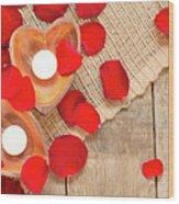 Valentine Mood Wood Print