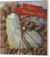 Valentines Card 1 Wood Print
