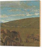 Vallata A Castiglioncello Wood Print