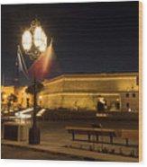 Valletta Light Wood Print