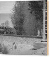 Valley Express Wood Print
