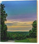 Valley Forge Views Wood Print