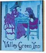 Valley Green Inn Wood Print