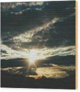 Valley Grove West Virginia Wood Print