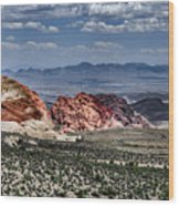 Valley Of Fire Iv Wood Print
