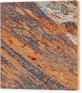 Valley Of Fire Petroglyphs Wood Print