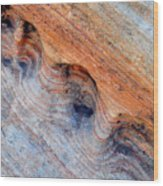 Valley Of Fire Rainbow Sandstone Wood Print