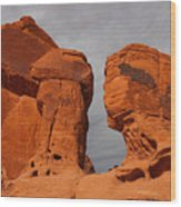 Valley Of Fire State Park Seven Sisters Wood Print