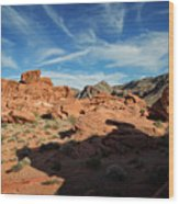 Valley Of Fire XI Wood Print