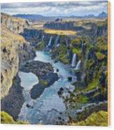 Valley Of Tears #2 - Iceland Wood Print