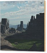 Valley Of The Kings Wood Print