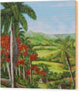 Yumuri Valley Wood Print