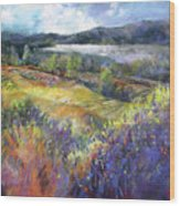 Valley View Wood Print