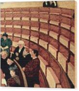 Vallotton: Gallery, 1895 Wood Print