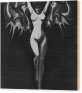 Vampir De La Femme Wood Print