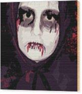 Vampire II Wood Print
