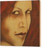 Vampire Wood Print