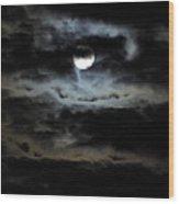 Vampire Skies Wood Print