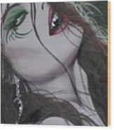 Vampiress II Wood Print