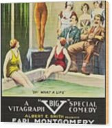 Vamps And Variety 1919 Wood Print