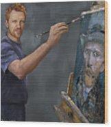 Van Gogh 2018 Wood Print