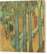 Van Gogh: Alyscamps, 1888 Wood Print