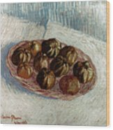 Van Gogh: Apples, 1887 Wood Print