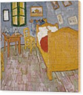 Van Gogh: Bedroom, 1888 Wood Print