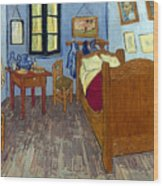 Van Gogh: Bedroom, 1889 Wood Print