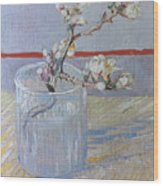 Van Gogh: Branch, 1888 Wood Print