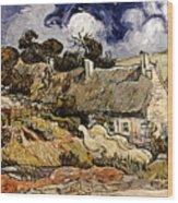 Van Gogh: Cordeville, 1890 Wood Print
