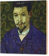 Van Gogh: Dr Rey, 19th C Wood Print