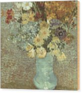 Van Gogh: Flowers, 1887 Wood Print