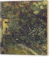 Van Gogh: Hospital, 1889 Wood Print