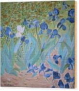 Van Gogh Iris By Alanna Wood Print by Alanna Hug-McAnnally