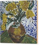 Van Gogh Wood Print