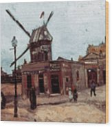 Van Gogh: La Moulin, 1886 Wood Print