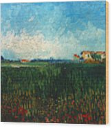 Van Gogh: Landscape, 1888 Wood Print