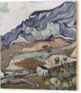 Van Gogh: Landscape, 1890 Wood Print