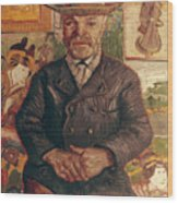 Van Gogh: Pere Tanguy, 1887 Wood Print
