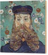 Van Gogh: Postman, 1889 Wood Print